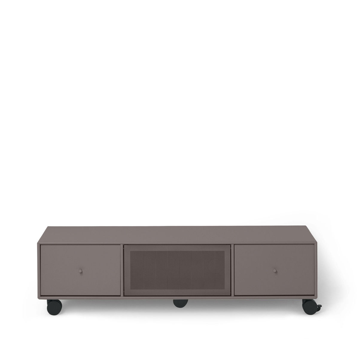 tv sound hub i sideboard mit rollen montana aufbewahrung m bel. Black Bedroom Furniture Sets. Home Design Ideas