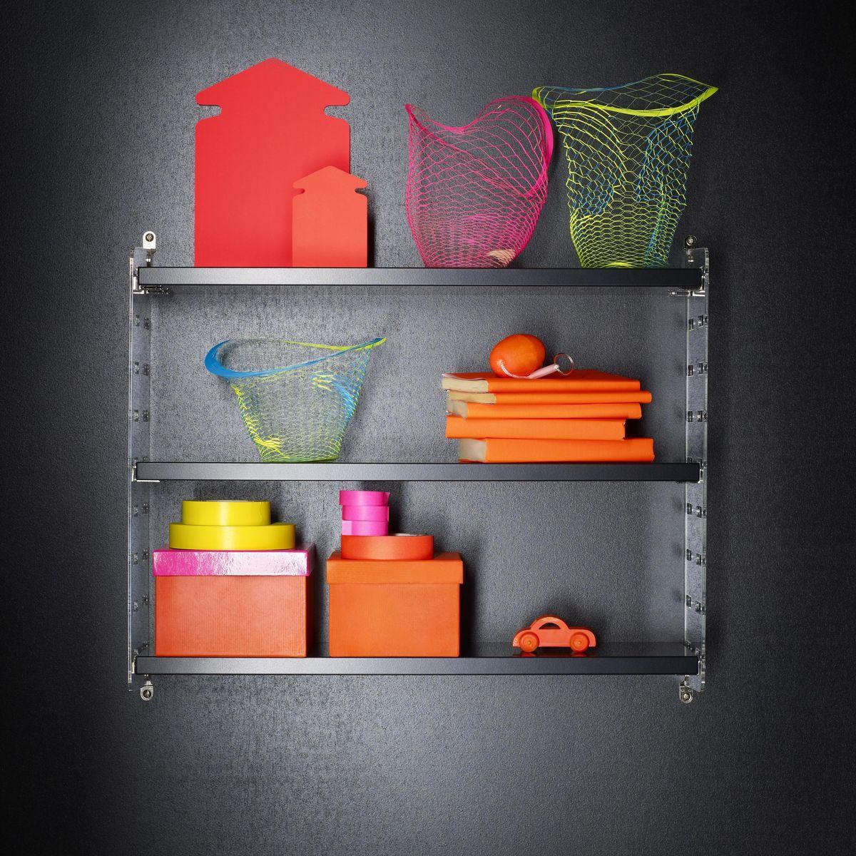 string pocket regal string. Black Bedroom Furniture Sets. Home Design Ideas
