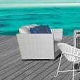 Gervasoni - InOut 501 Poly Rattan Lounge Armchair