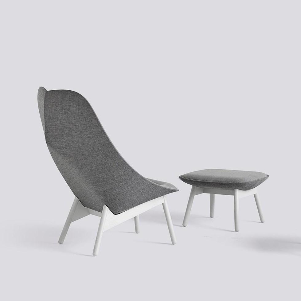 uchiwa lounge sessel gestell grau hay. Black Bedroom Furniture Sets. Home Design Ideas