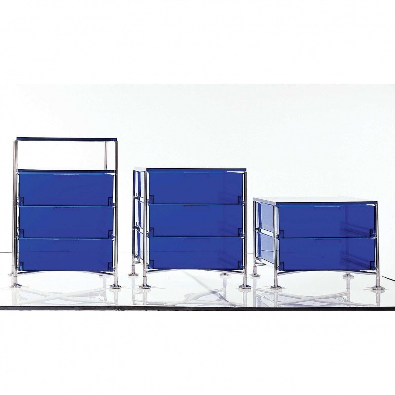 mobil 3 container with feet kartell. Black Bedroom Furniture Sets. Home Design Ideas
