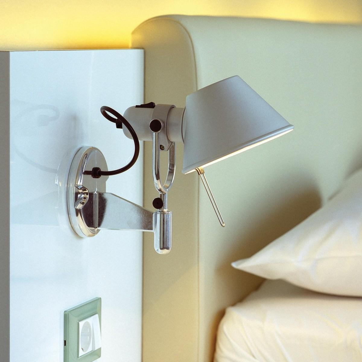 tolomeo micro faretto led applique murale artemide. Black Bedroom Furniture Sets. Home Design Ideas