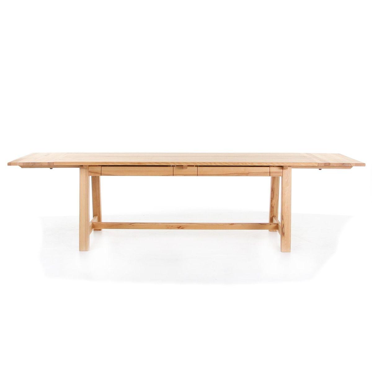 Le chef table de salle manger extensible adwood for Table salle a manger extensible en bois massif