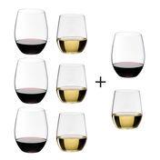 - O Wine Weinglas Geschenksets 6+2 -