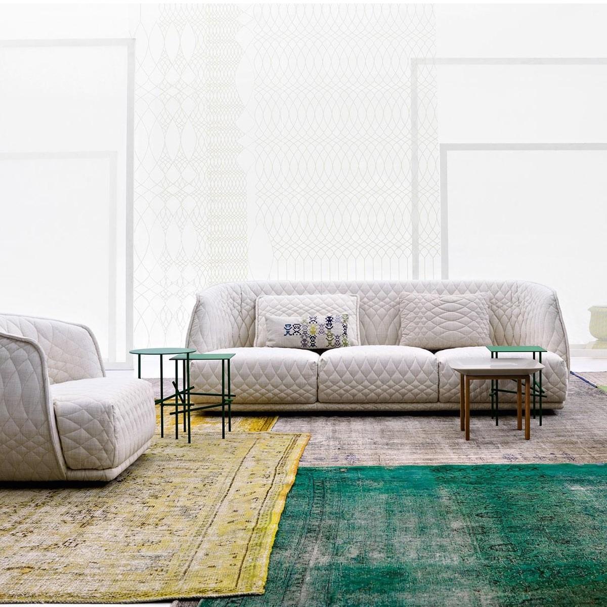 Redondo sofa 4 seater moroso for Sofa exterior redondo