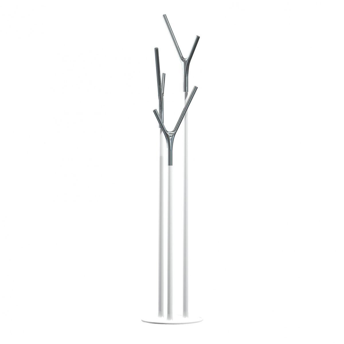 wishbone coat rack  frost  flemming busk  ambientedirectcom - frost  wishbone coat rack  whitestainless steelh cm