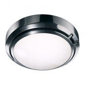 Luceplan - Metropoli D20/27V - aluminium/poliert/Diffusor Prismenglas/Ø27cm