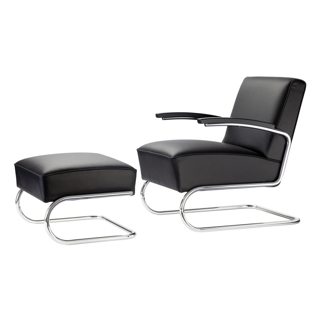 thonet s 411 sessel und hocker thonet sofa klassiker klassiker. Black Bedroom Furniture Sets. Home Design Ideas