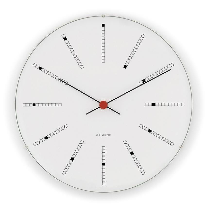 bankers wall clock rosendahl design group. Black Bedroom Furniture Sets. Home Design Ideas