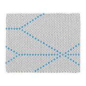 HAY - S&B Dot - Carpet 80x100cm - big blue/80x100cm/Eenmalig exemplaar