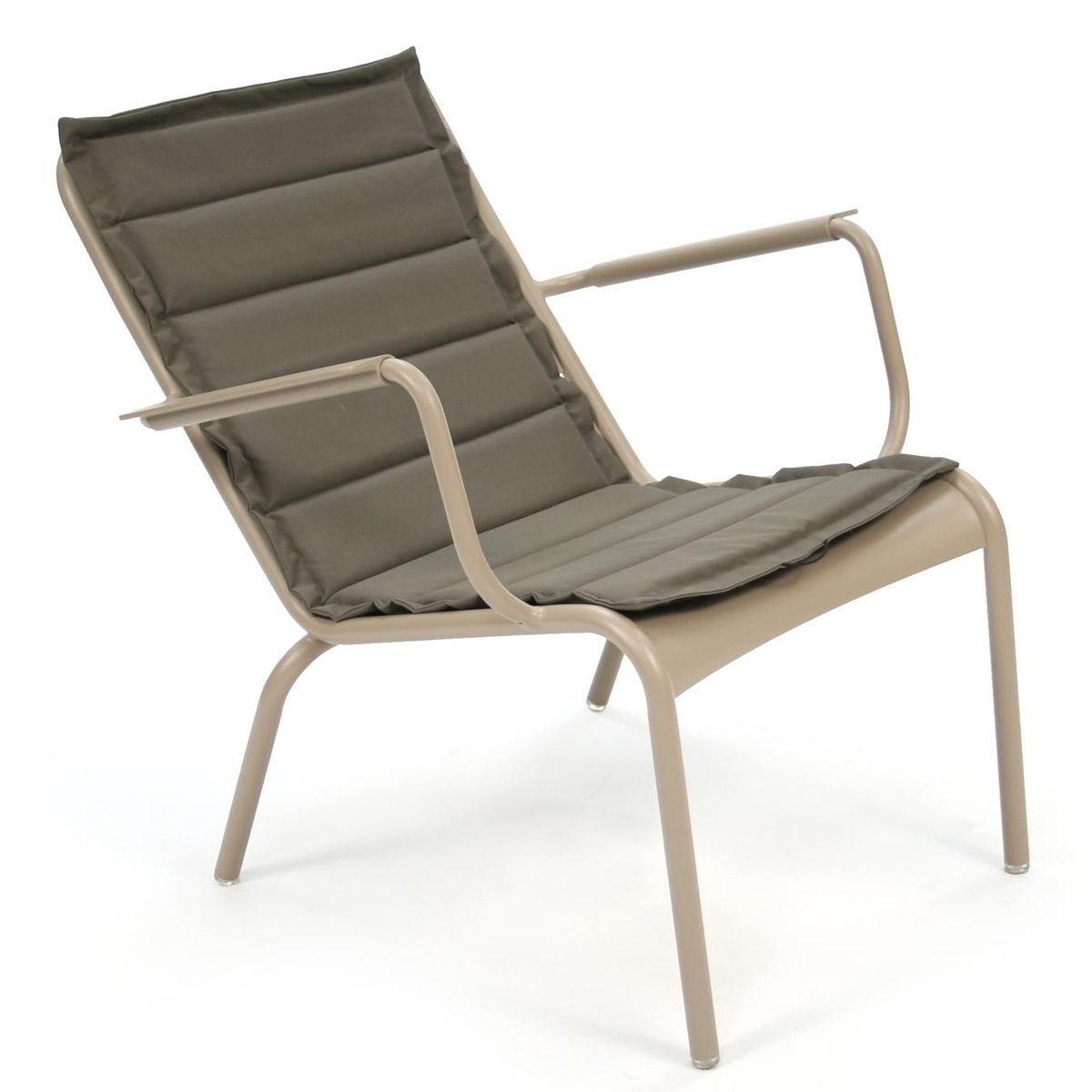 Luxembourg coussin pour fauteuil bas fermob coussins for Coussins pour fauteuil de jardin
