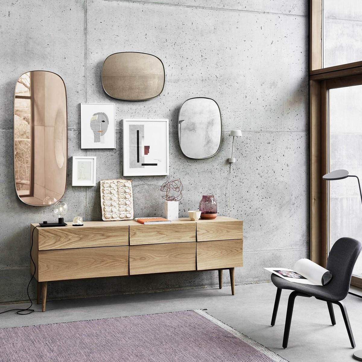 muuto reflect sideboard muuto. Black Bedroom Furniture Sets. Home Design Ideas