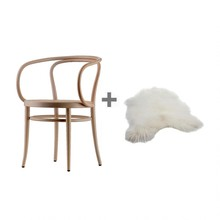 Thonet - Promotion Set 209 Armchair + Fur