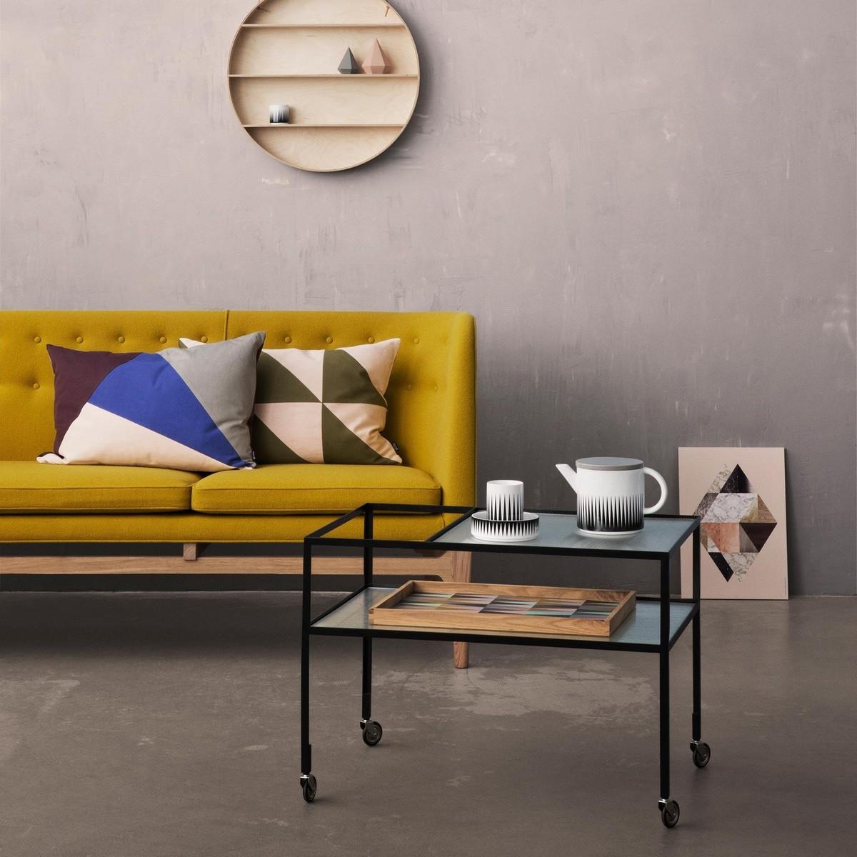 herbert hirche barwagen servierwagen richard lampert. Black Bedroom Furniture Sets. Home Design Ideas