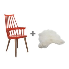 Kartell - Promotion Set Comback Chair + Fell