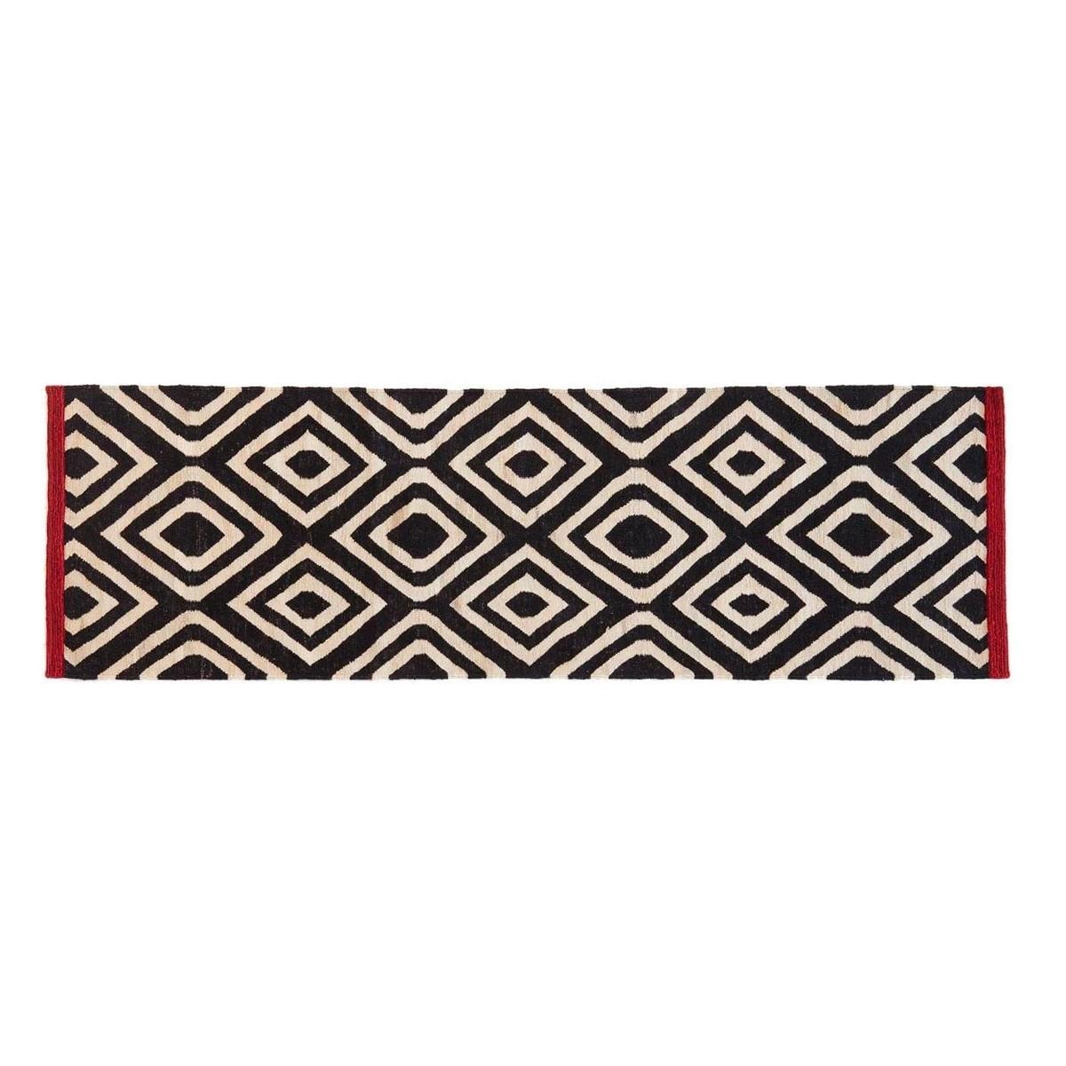 m lange pattern 1 kilim tapis de couloir nanimarquina. Black Bedroom Furniture Sets. Home Design Ideas