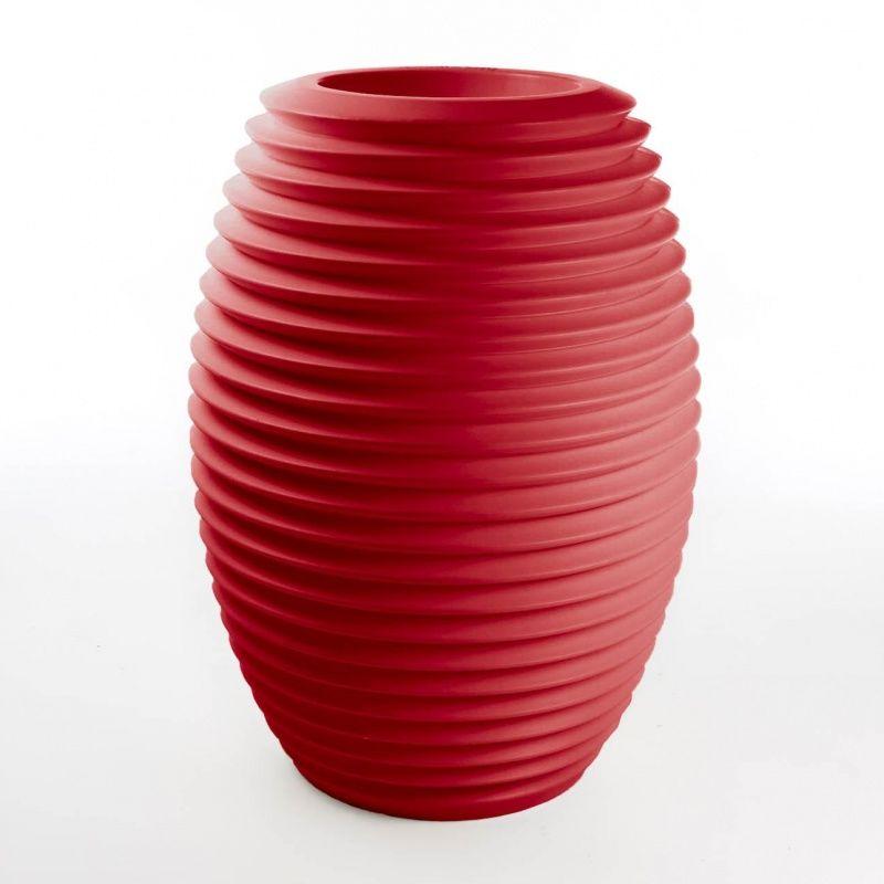 Top pot hard vase serralunga - Pot rouge exterieur ...
