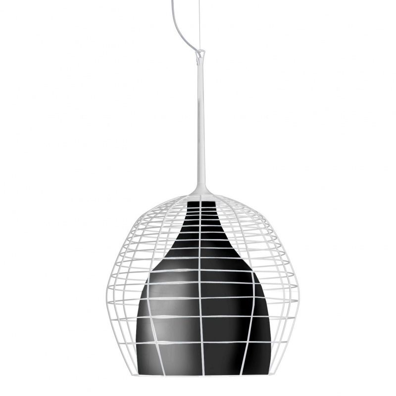 cage grande suspension lamp diesel. Black Bedroom Furniture Sets. Home Design Ideas