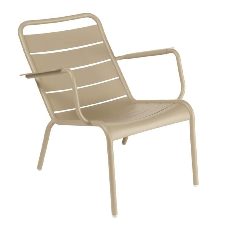 Luxembourg low armchair fermob - Chaise luxembourg fermob ...