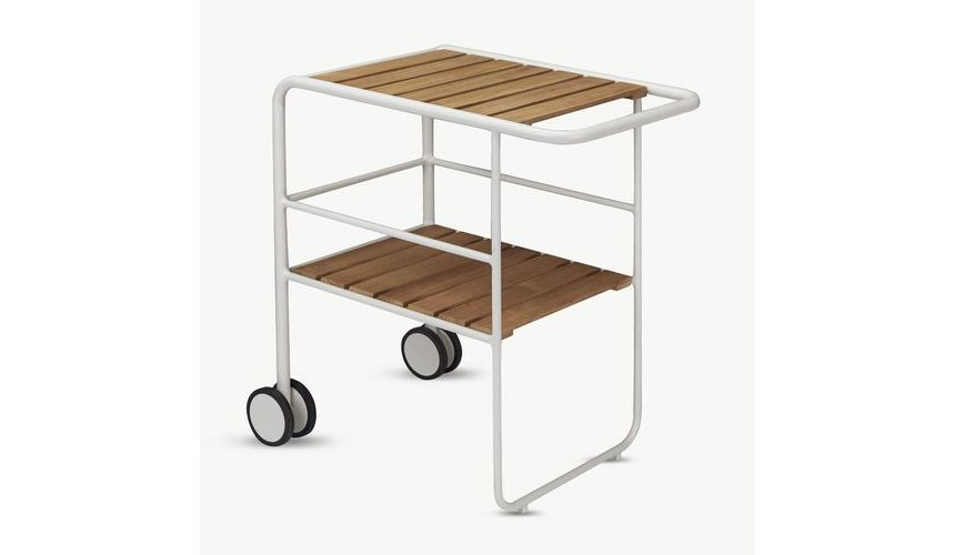 Fuori desserte mobile chariot skagerak tables - Tables roulantes dessertes ...