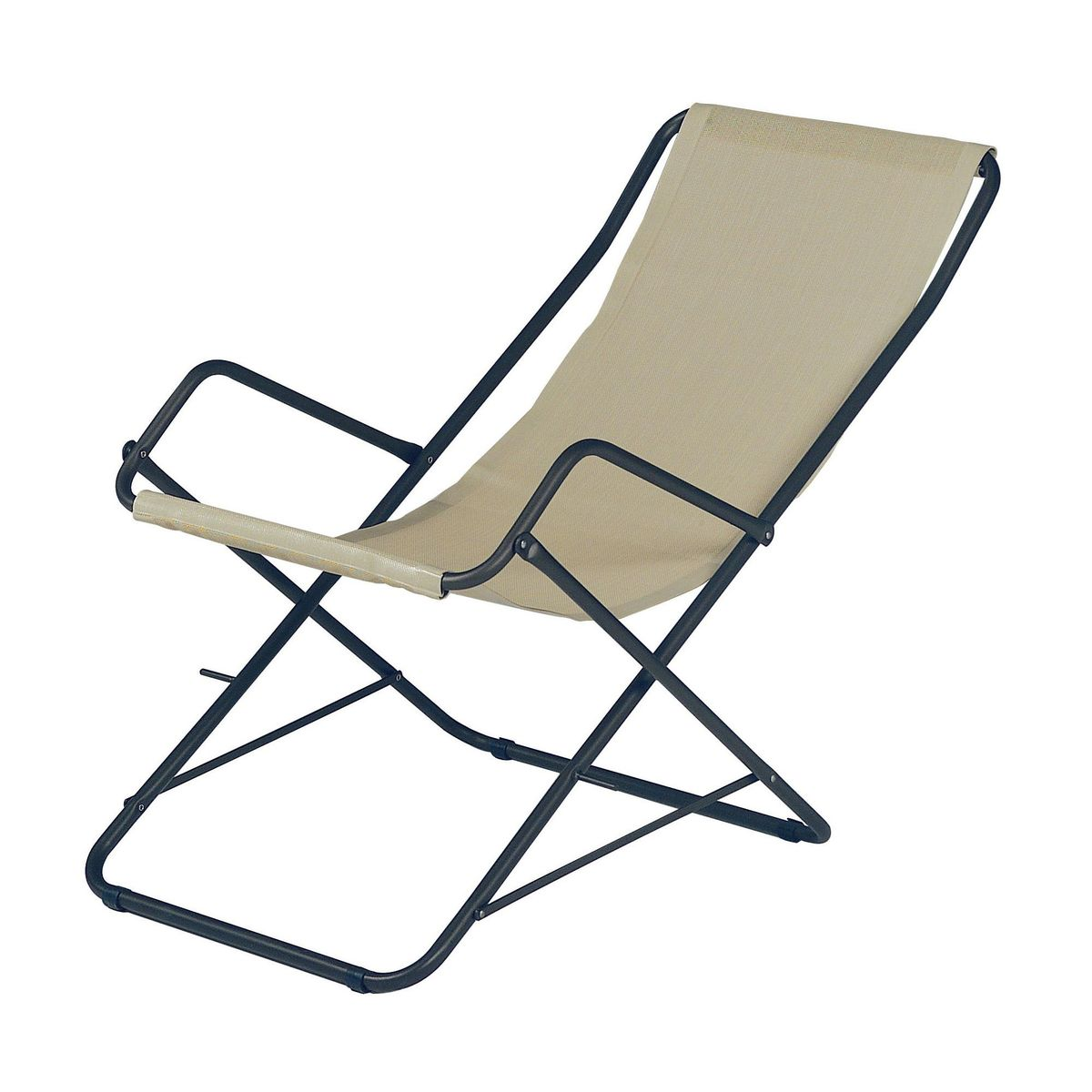 Bahama deckchair emu - Chaise longue pliante ...