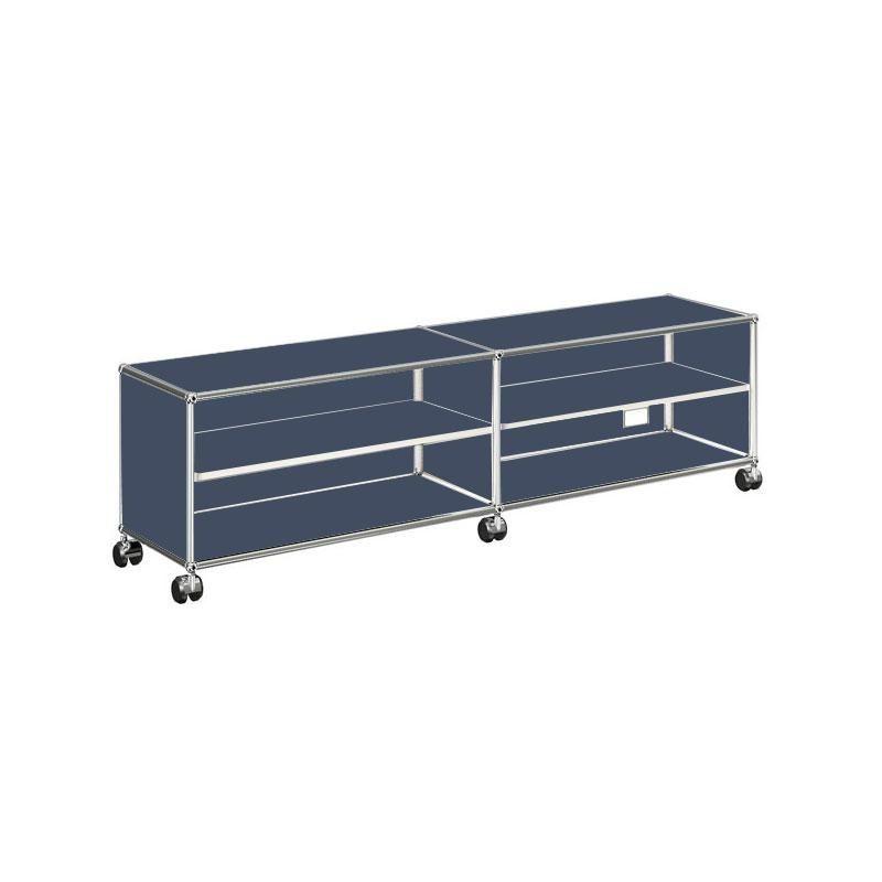 usm tv hi fi sideboard h 43cm usm haller. Black Bedroom Furniture Sets. Home Design Ideas