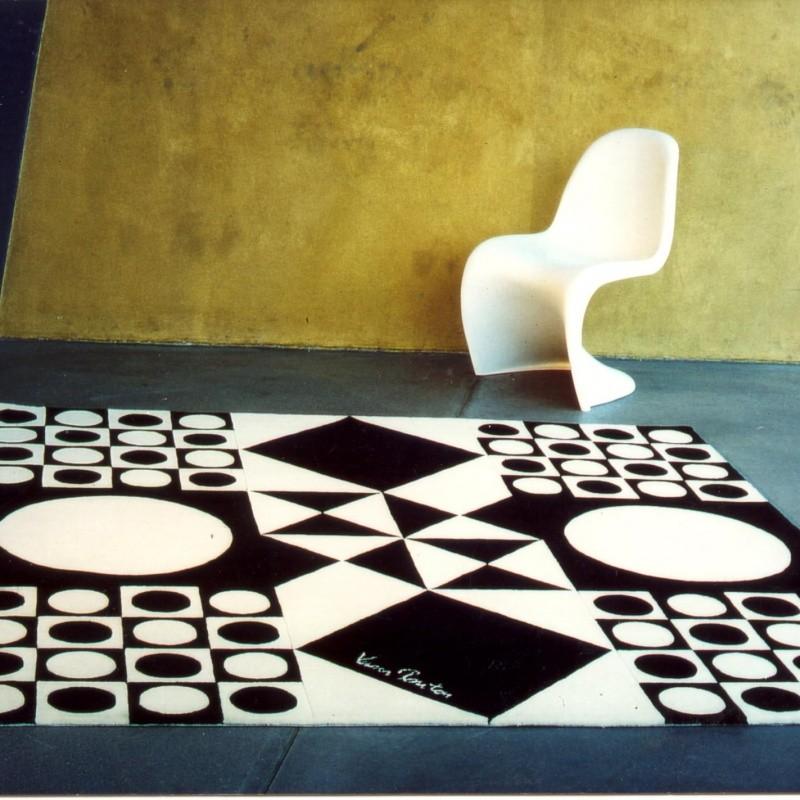 vp 4 verner panton tapis designercarpets tapis. Black Bedroom Furniture Sets. Home Design Ideas