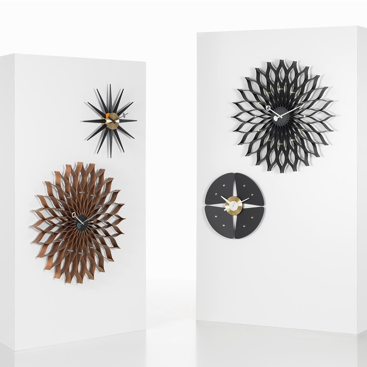 sunburst clock nelson wanduhr vitra. Black Bedroom Furniture Sets. Home Design Ideas