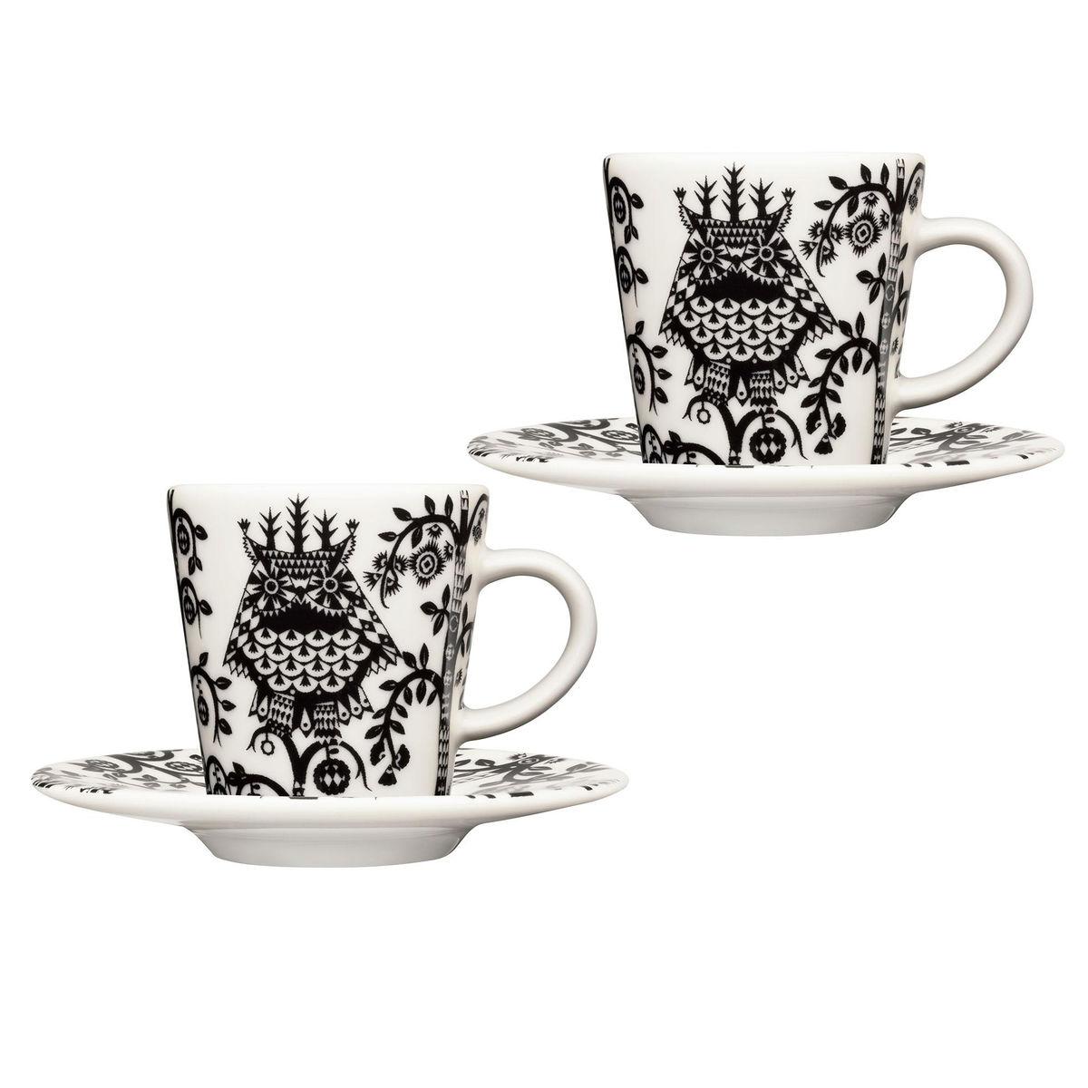 Taika set de 2 tazas de caf espresso iittala for Tazas para cafe espresso