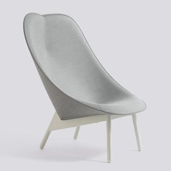 - Uchiwa Lounge Sessel Gestell grau -