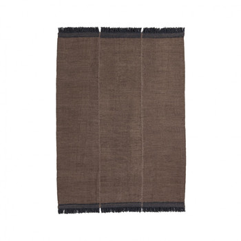 - Mía Brown Wollteppich 170x240cm -