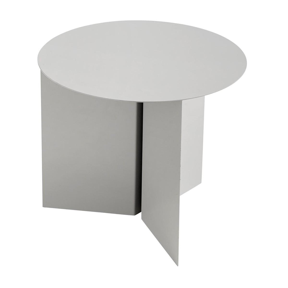 Slit table round beistelltisch hay for Beistelltisch petrol