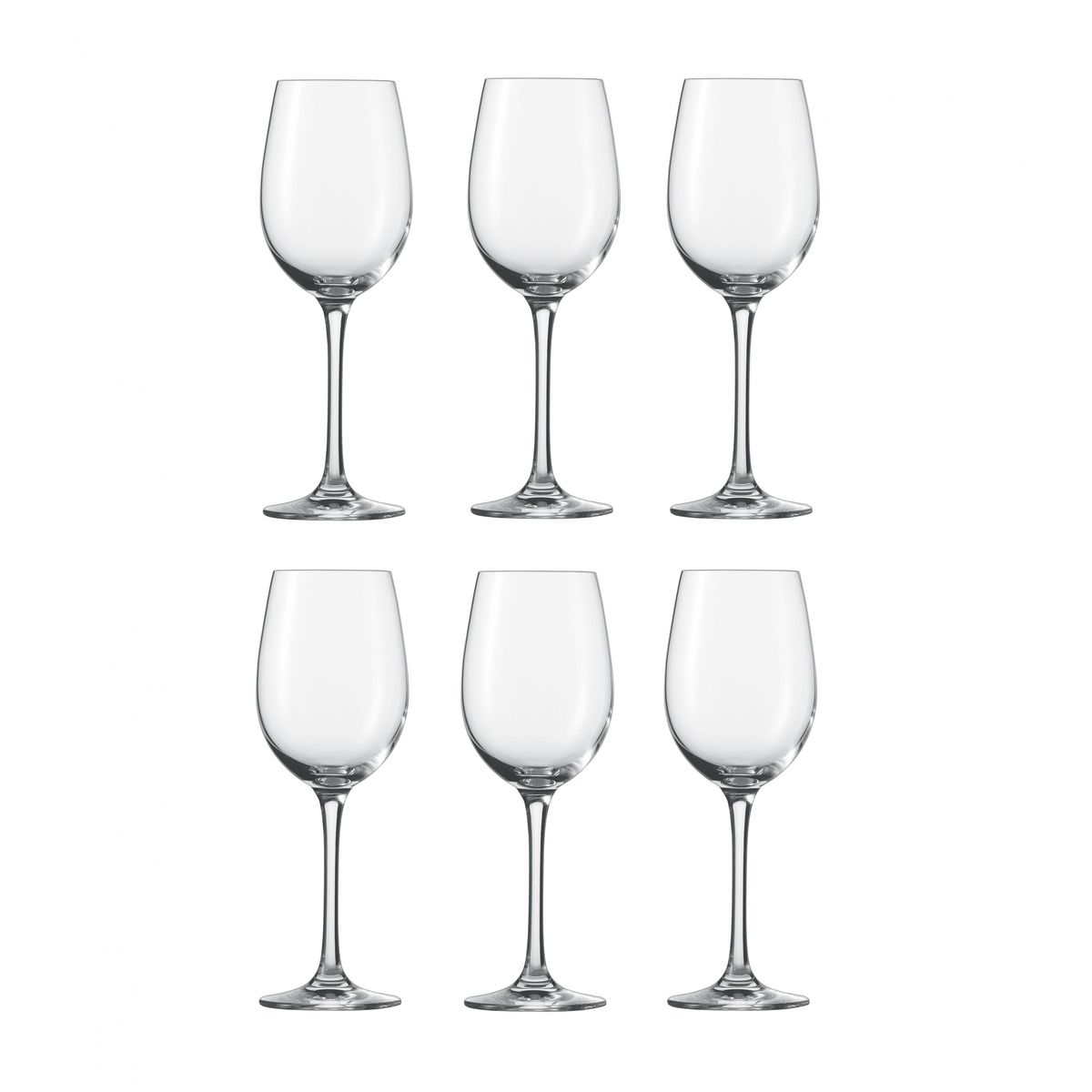classico white wine glass set of 6 schott zwiesel schott zwiesel classico. Black Bedroom Furniture Sets. Home Design Ideas