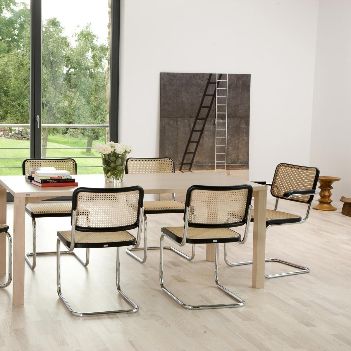 thonet s 32 freischwinger stuhl thonet. Black Bedroom Furniture Sets. Home Design Ideas
