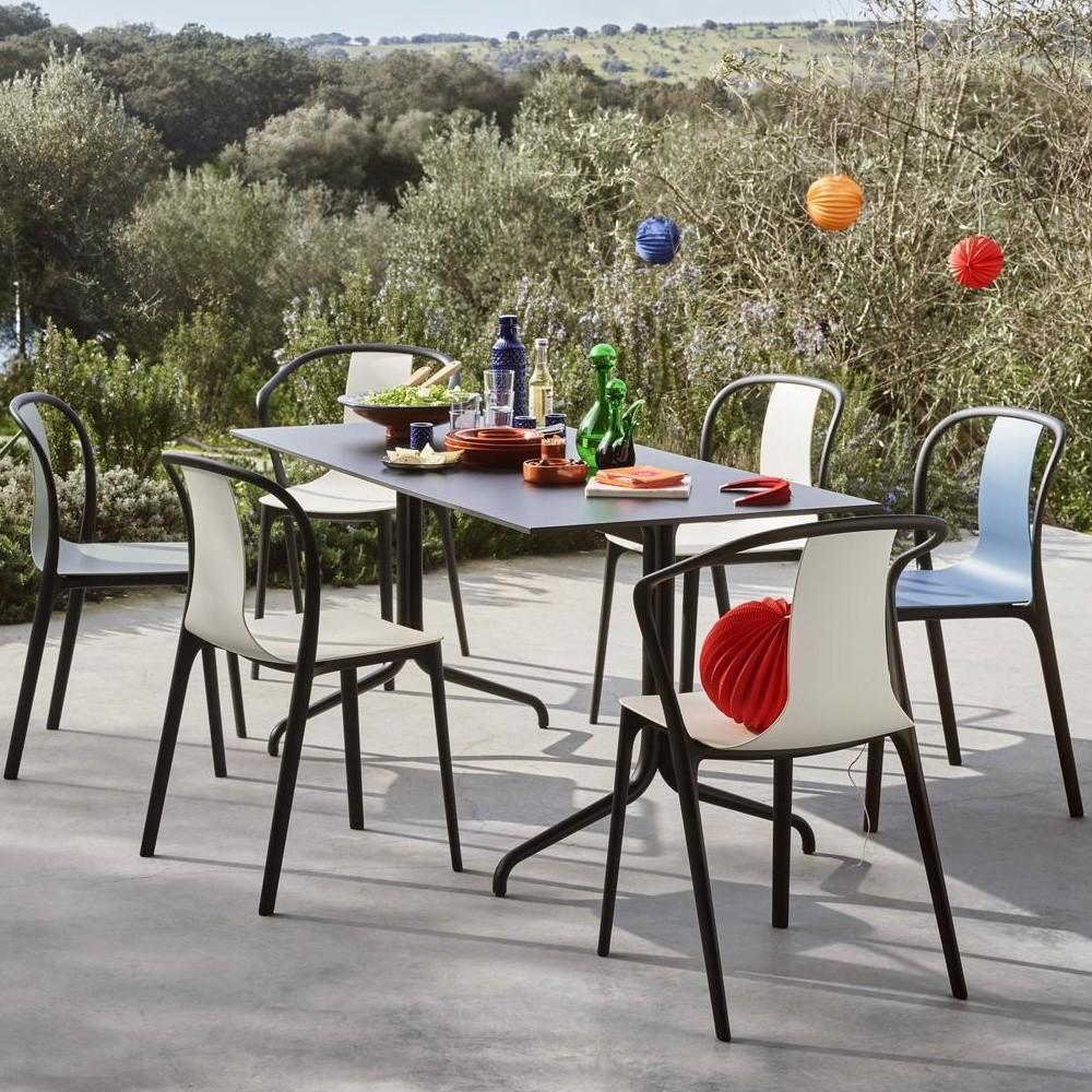 belleville armchair plastic outdoor vitra. Black Bedroom Furniture Sets. Home Design Ideas