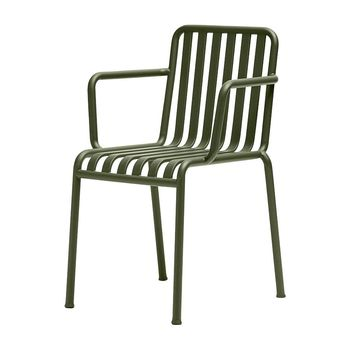 HAY - Palissade - Fauteuil - olive/thermolaqué/51x80x56cm
