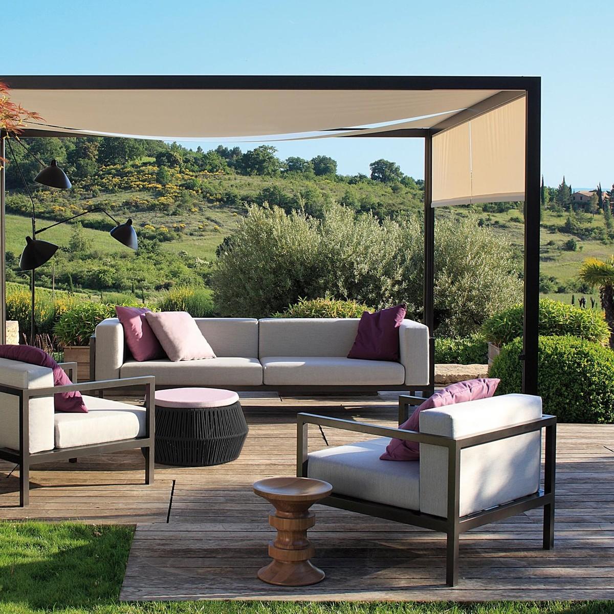 Landscape - Canapé de Jardin 2 Places XL  Kettal ...