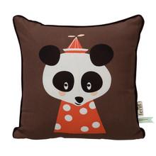 ferm LIVING - Posey Panda Kinderkissen 30x30cm