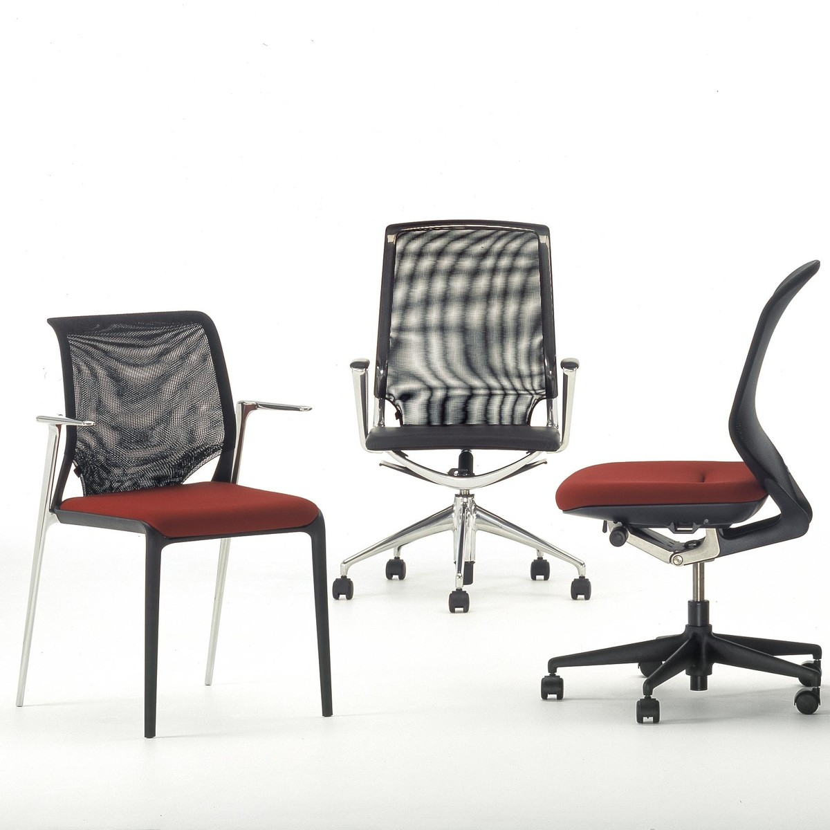 Vitra meda chair chaise de bureau vitra for Chaise vitra bureau