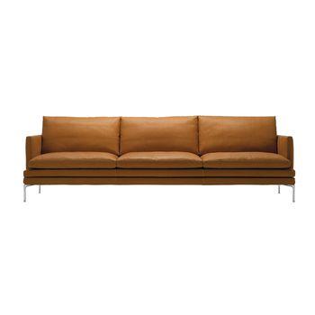 William 3 ziter sofa zanotta - Sofa zitter ...