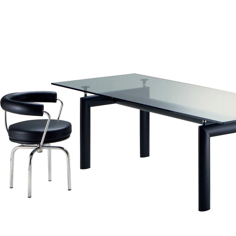 le corbusier lc6 table cassina cassina. Black Bedroom Furniture Sets. Home Design Ideas