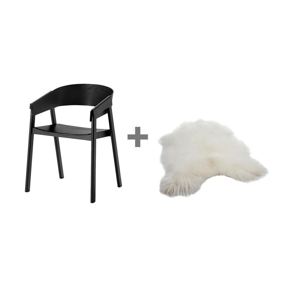 set promo chaise cover peau muuto. Black Bedroom Furniture Sets. Home Design Ideas