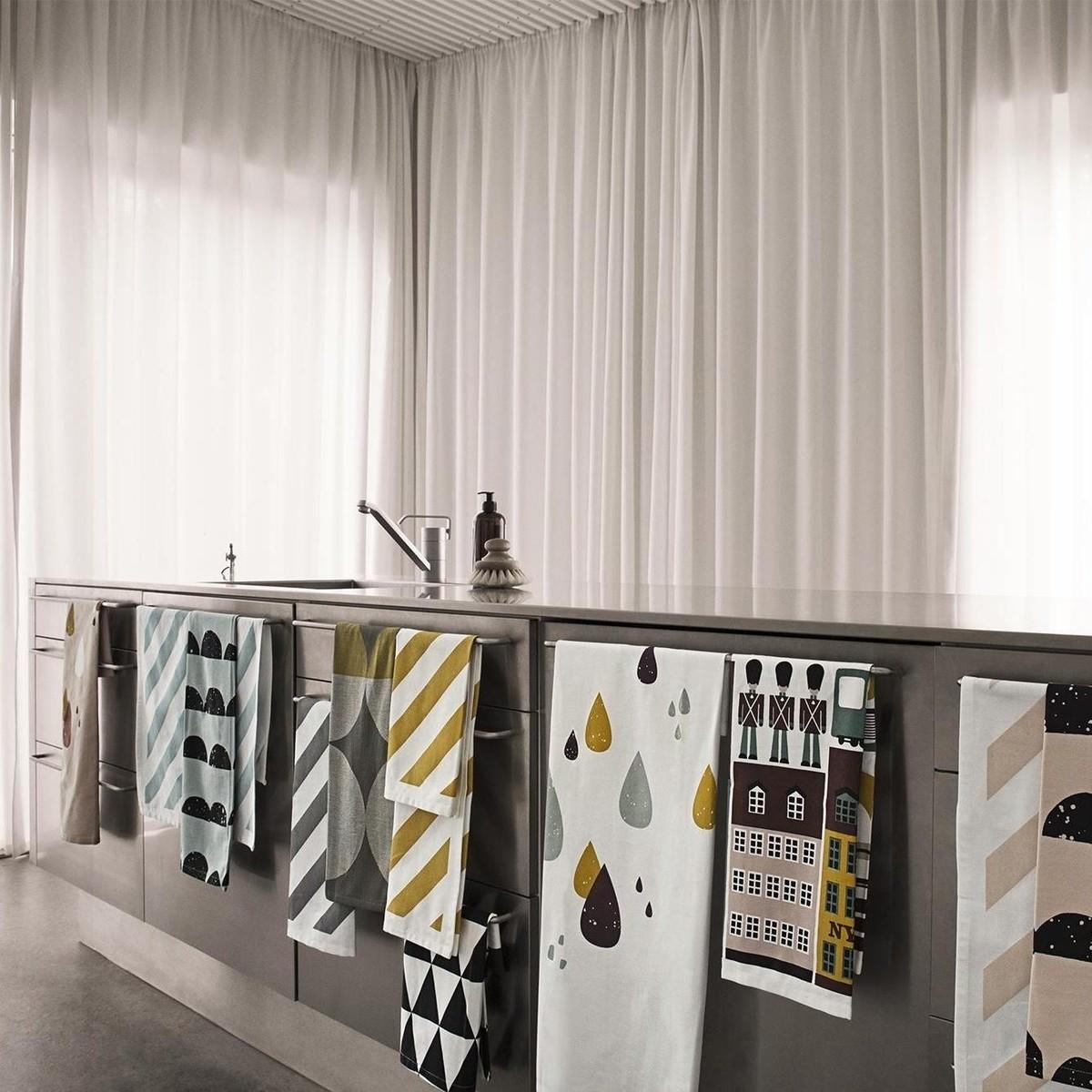 copenhagen geschirrtuch ferm living. Black Bedroom Furniture Sets. Home Design Ideas