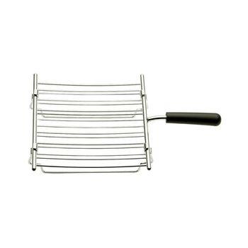 Dualit - Dualit Brötchenaufsatz für 28mm - silber/schwarz/hitzebeständig/spülmaschinenfest