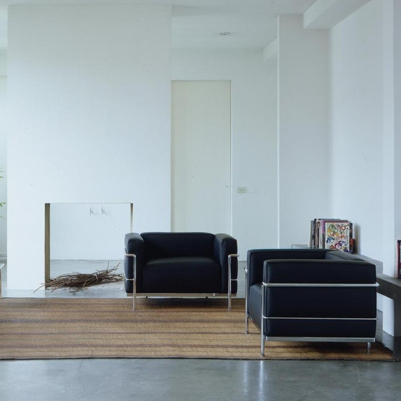 le corbusier lc3 sessel cassina cassina. Black Bedroom Furniture Sets. Home Design Ideas