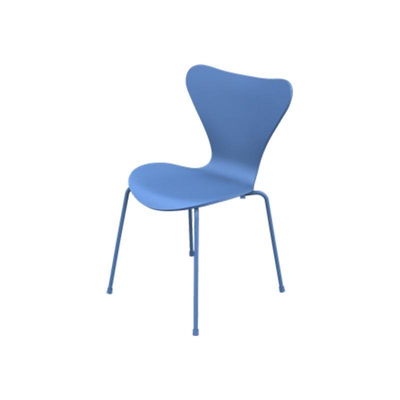 série 7 monochrome - chaise | fritz hansen | ambientedirect.com - Chaise Serie 7