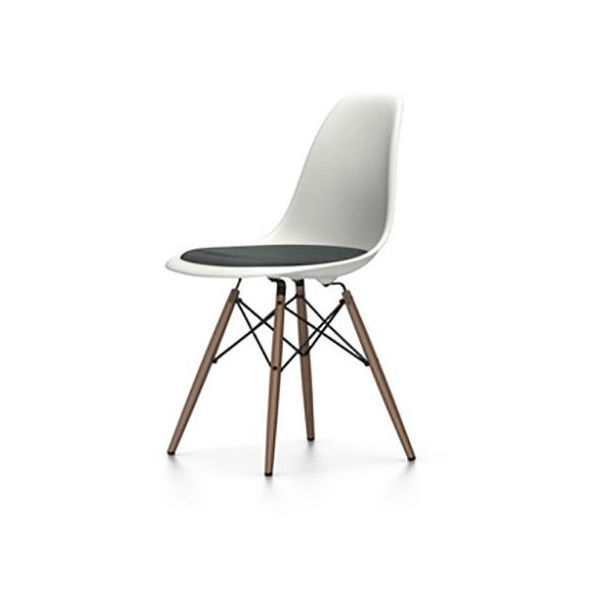 eames plastic side chair dsw gepolstert h43cm vitra. Black Bedroom Furniture Sets. Home Design Ideas