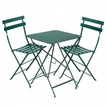 Fermob - Bistro Classique - Ensemble de jardin table carrée